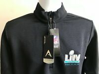 Super Bowl LIV Miami NFL Men's Canyon 1/2 Zip Pullover Antigua Outerwear Size L