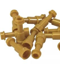 Lego X10 New Pearl Gold Telescope Mini Figures Utensil Parts Lot