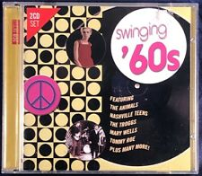 Various Artists: Swinging '60s 2CD Album in VG Condition