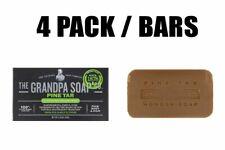 Grandpa's, Wonder Pine Tar Soap, 4 Pack, 4.25 oz (120g) each