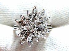 1.10ct Diamonds Profile Cluster Top 18kt ring Vintage Deco