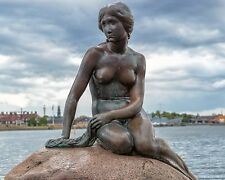 The Little Mermaid in Copenhagen, Denmark 8x10 Photo Picture