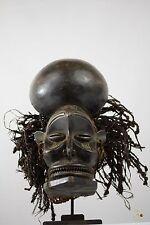 Chokwe - Tshokwe Chihongo African Mask - Congo DRC