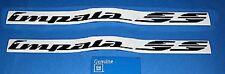 94-96 Impala SS Black 1/4 Panel Emblems NEW GM PAIR 742X2