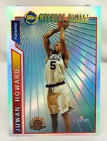 1996-97 Topps Mystery Finest Bordered Refractor JUWAN HOWARD Bullets #M5