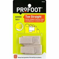 PROFOOT Toe Straight Hammertoe Wrap 1 Pair Toe Wraps to Straighten Toes, Can...