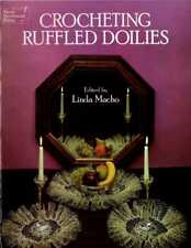 Crocheting Ruffled Doilies Patterns Dover Needlework