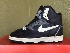 Vintage 1990 Nike Delta Force High Black/White Size 4 OG Basketball