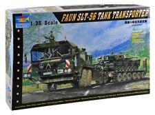 Trumpeter 1:35 Faun SLT-56 Panzer-Transporter Modellbausatz