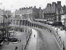 RAMSGATE NEW ROAD ENGLAND VINTAGE HISTORY OLD BW PHOTO PRINT POSTER 1632BWB