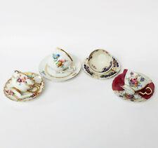 Sammlung Konvolut 4 alte Porzellan Mokkatassen Tassen Espressotassen