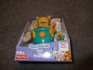 Vintage Brand New Sealed Disney Winnie the Pooh Babies Roll N Around Figure