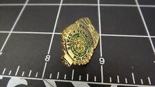 """VERMONT STATE POLICE"" MINI-BADGE Enamel Lapel Pin BRAND NEW"