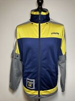 Athletic X-Press Vintage Tracksuit Trackie Track Jacket Top & Removable Arms M-L