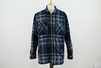 CHAMPION Stirling Lumberjack Flannel Sherpa Jacket size 2XL