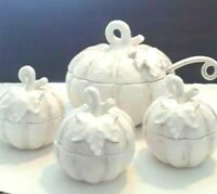 Mikasa Countryside Harvest Soup Tureen with 3 bowls 9 piece set