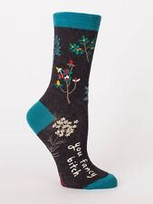 Women's Crew Socks You Fancy Bitch, Blue Q, Funny, Novelty Funny Gifts, Cotton