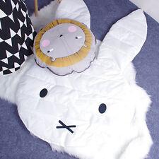 Kids Bunny Play Rug Picnic Cushion Crawling Mat Baby Todler Playing Carpet Pop