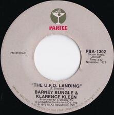 Barney Bungle & Klarence Kleen ORIG US 45 UFO Landing VG+ '73 Comedy