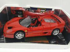 Burago 1/18 Scale Diecast 3352 Rare Red Ferrari F50 1995 Coupe