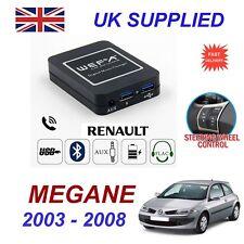 Pour Renault Megane de musique en Streaming Bluetooth Téléphone Chargeur SD AUX cd module 8