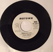 Stacie Johnson, Woman In My Eyes, Motown Promo 45 record