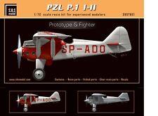 SBS Model 7021 1/72 PZL P.1 I-II 'Prototype & Fighter' full resin kit