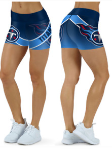 Tennessee Titans Small to 2XL Women's Shorts