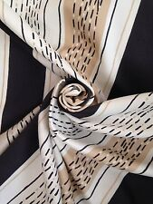 "8 Metres Double Width Retro 50's 70's Eames Era Style Stripe Curtain Fabric 112"""