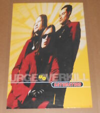 Urge Overkill Saturation Promo 1993 Original Poster 23x35
