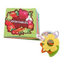 Baby Cloth Book Children Intelligence Development Cognize Book Toy B