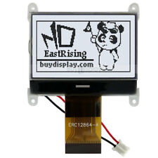 "1.8"" 128x64,Graphic LCD Module Display SPI Serial,ST7565P w/Tutorial,Connector"