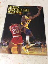 Beckett Basketball Magazine Monthly Price Guide July August 1990 Magic Johnson
