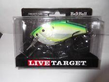 "Koppers Live Target Threadfin Shad 3.5"" BAIT BALL SQUARE BILL CRANKBAIT"