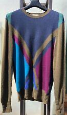 100% Authentic BURBERRY Men's Cashmere Long Sleeve Crew Neck Sweater M