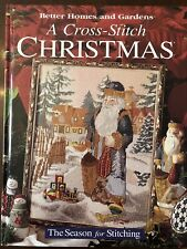 A Cross-Stitch Christmas: The Season for Stitching (1996, Hardcover)