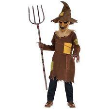 Children Boys Scary Scarecrow 8-10 yrs Halloween Fancy Dress