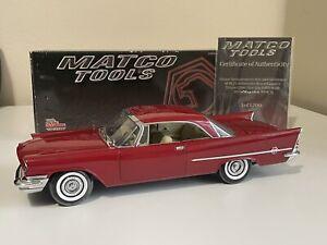 1957 Chrysler 300C ERTL Authentics 1:18 Matco Tools Limited Edition 1 of 1200