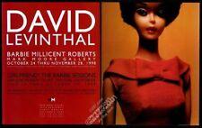 1998 David Levinthal Barbie Millicent Roberts doll photo vintage print ad