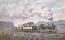 POSTCARD  RAILWAY   LNW   Claughton