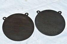 "AR500 Gong steel shooting target, 1/2"" x 12"" diameter  2 pieces set TGARE014"