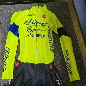 Large castelli long sleeve Skinsuit cyclocross soundpony  tulsa tough
