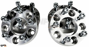 Wheel spacers 30mm 5x130 14x1,5 CB 85 Mercedes G