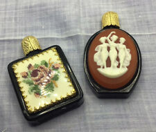 Two Vintage Small Perfume Bottles