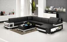 Leather Sofa Couch Interior Design Corner Set Modern G8017