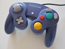 Original Nintendo Gamecube Controller lila blau purple