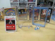 NINTENDO NES - NES  ACRYL CASE - BOX - SCHUTZ HÜLLE - UV - NEU - TOP - 2 STÜCK