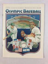 1984 Scorecard Magazine Olympic Baseball
