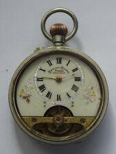 Antique Pocket  Watch   Hebdomas  type