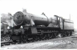 Rail Photo GWR 460 Hall 6964 Oxford shed Oxfordshire